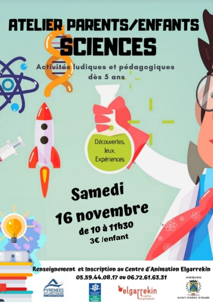 Atelier scientifique parents/enfants